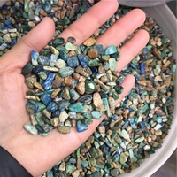 Wholesale Rough Fynchenite Gravel Stone Chrysocolla , Raw Gemstones Crystal Tumbled Stones