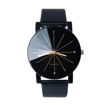 Splendid Watches Men Women Luxury Top Brand Quartz Dial Clock Leather Round Casual Wrist watch