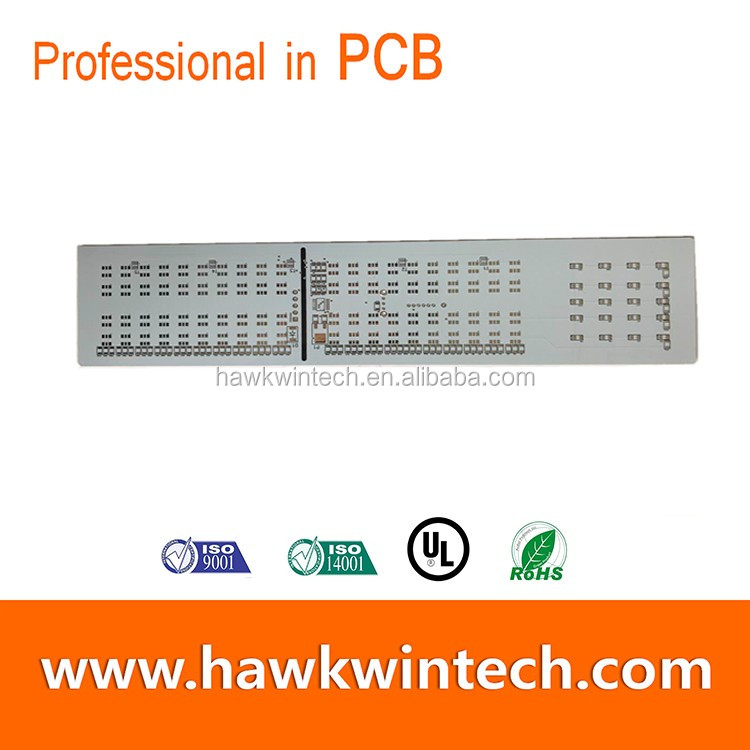 Double sided PCB D/S White Printed circuit board Professional manufacturer China