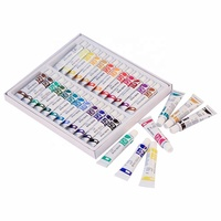 OEM/ODM 24 Colors High Quality Professional Non-Toxic Water Based Watercolor Paint Set for Artist Student