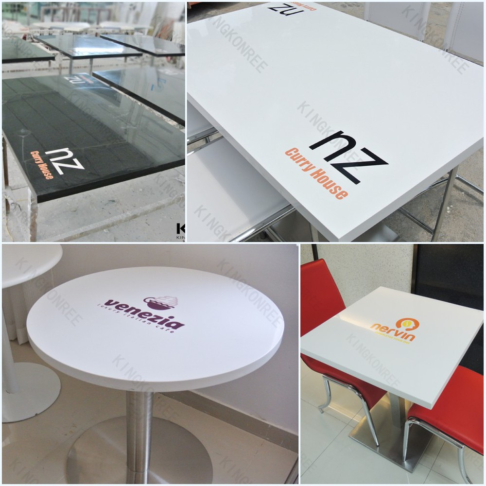 Restaurant furniture tables - Small Sizes Custom Restaurant Furniture Marble Top Tables