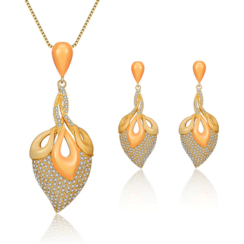 Simple Gold Jewellery Designs With Price Charm Cubic Zirconia