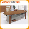 Modern Design Office Furniture MDF Models Of Oval Office Desk Set