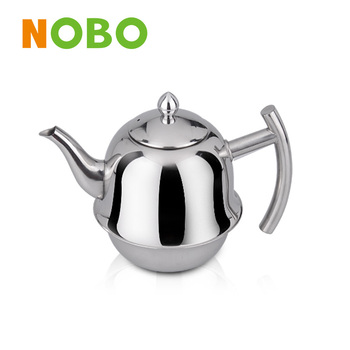 NOBO stainless steel tea kettle with infuser