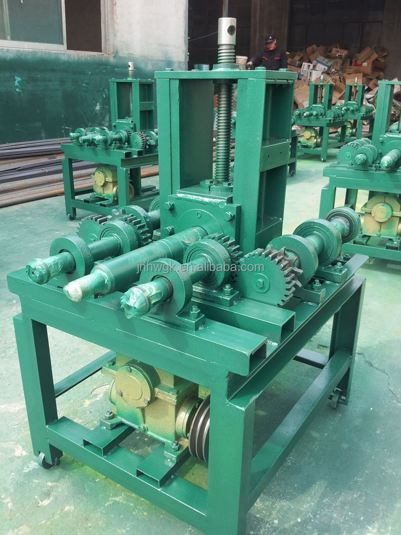 pipe bending machine used