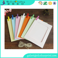 wholesale modern mini paper picture photo frames wall decoration