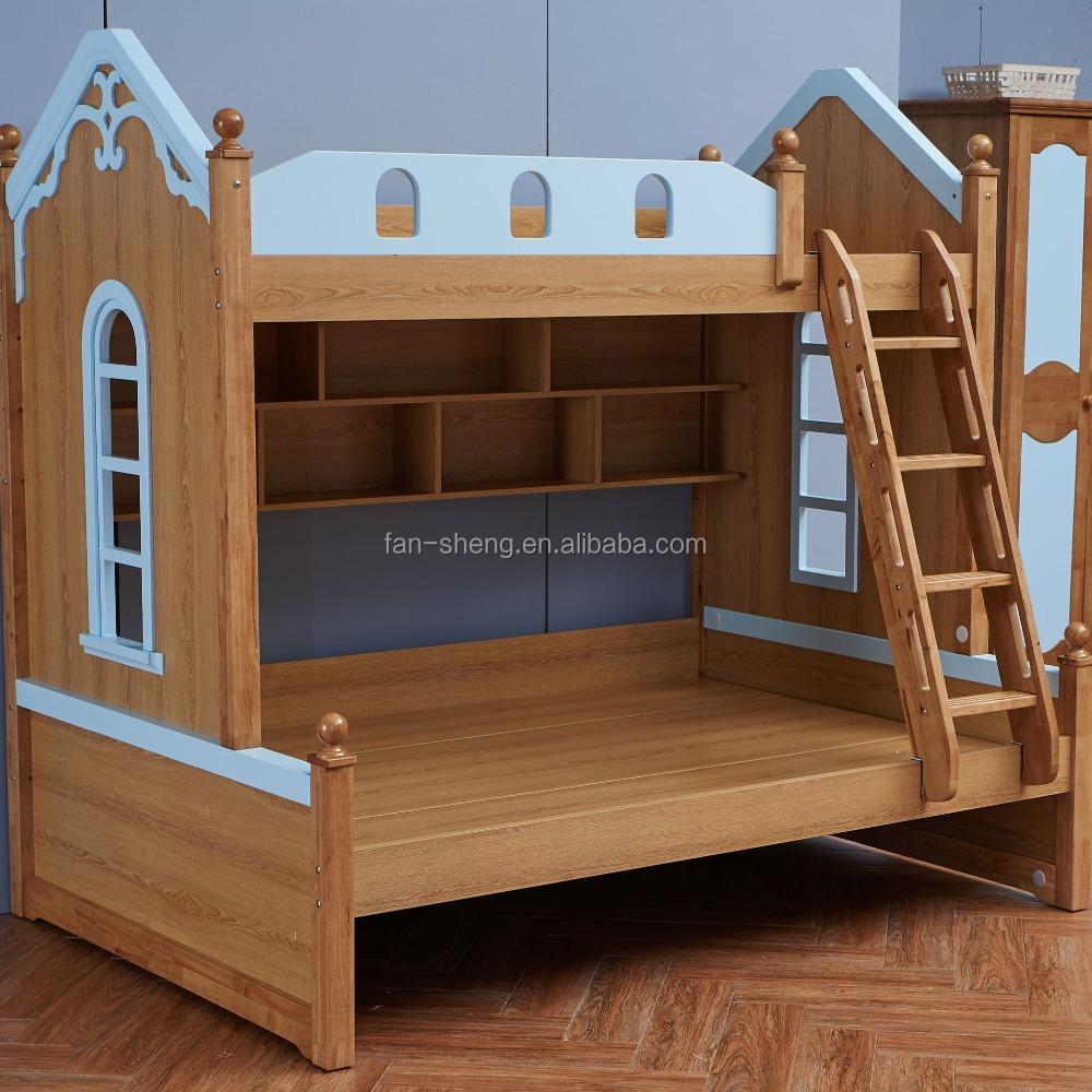 Venta caliente de los ni os muebles de dormitorio moderno for Literas de madera para ninos