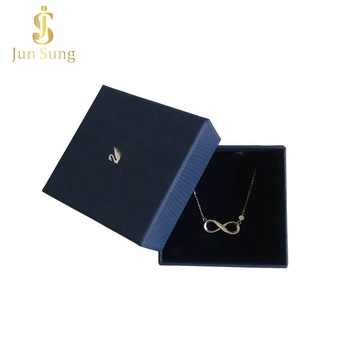 2019 New Design Custom Luxury Jewelry Gift Packaging Necklace Box with Logo