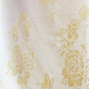 Damask Jacquard Mattress Ticking Fabric With Non-Woven Backing