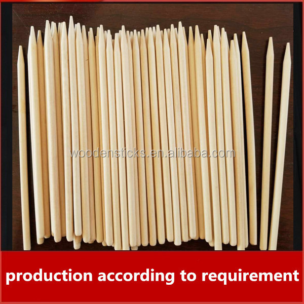 wholesale top quality wood material customized sizes corn dog stick