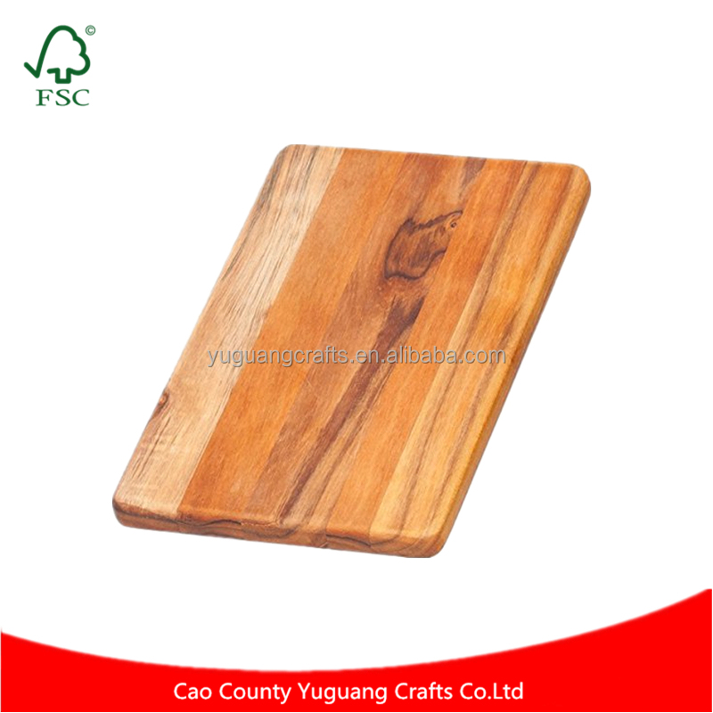 Yuguang Crafts Daily Use Cutting Board Rectangle Chopping And Serving Board