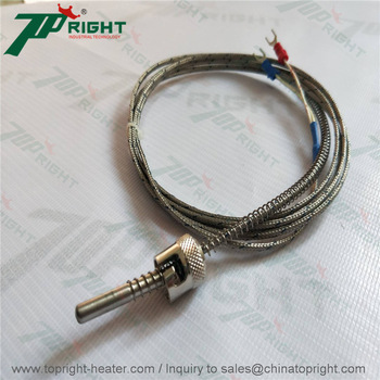 Double thermocouple de type J