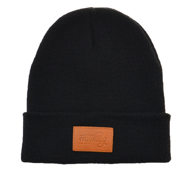 Custom Leather Patch Beanies Wool Cheap Beanie Hat With Custom Label ... a99387bf91d