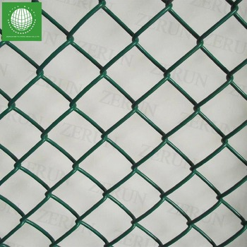 Pvc Coated Electro-galvanized Usd Chain Link Fence Panels - Buy Usd ...