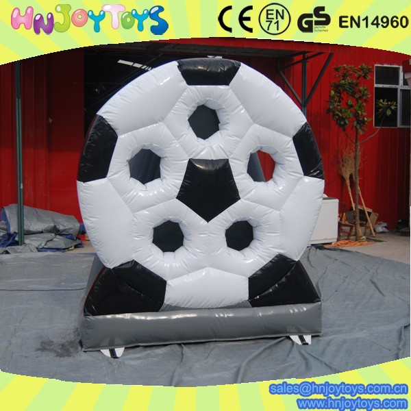 inflatable football target , football shooting target, Inflatable Sport Games on sale