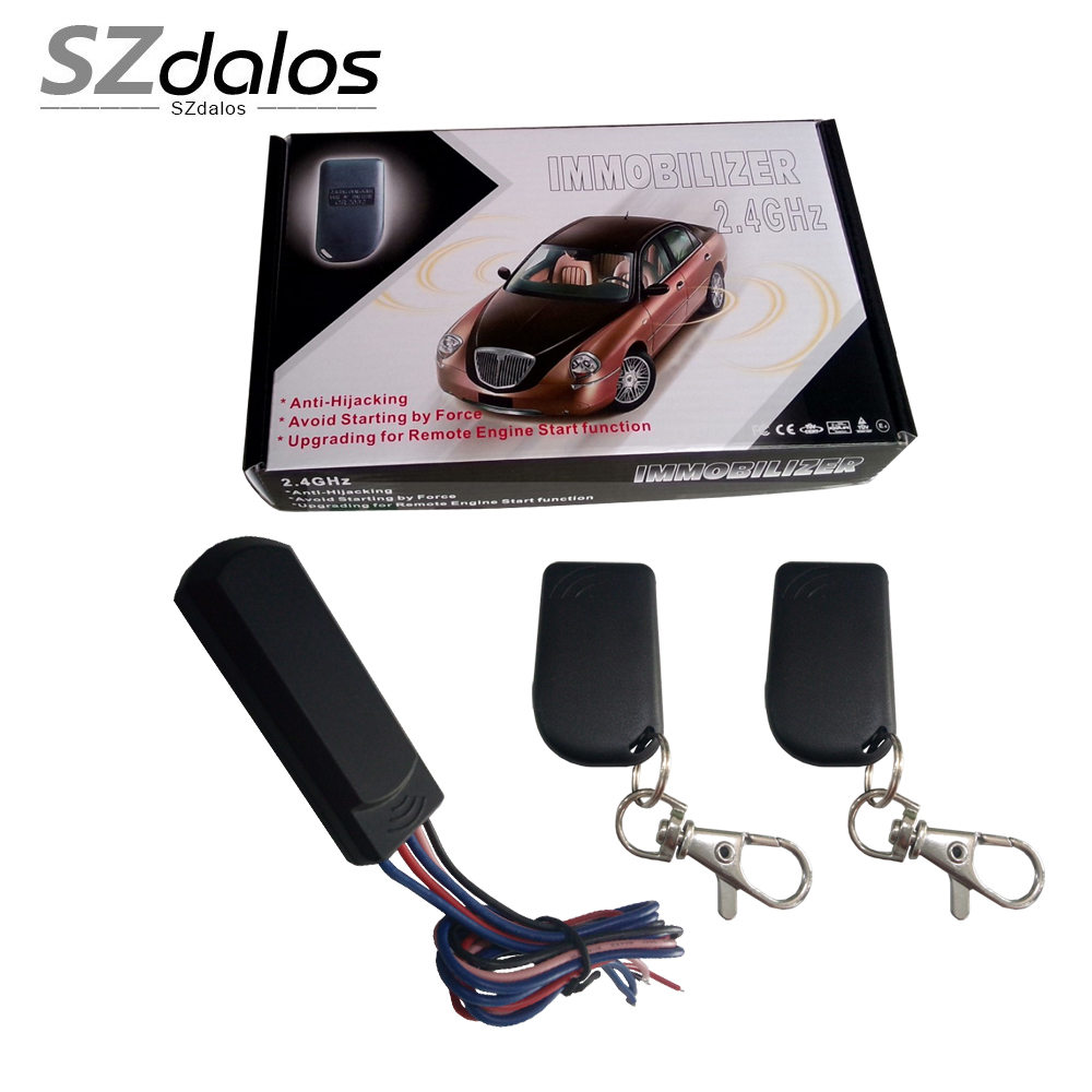 Rfid Car Immobilizer Engine Lock,Intelligent Anti-hijacking And Circuit Cut  Off,Automatically Lock And Unlock Car Engine - Buy Car Remote Engine Cut