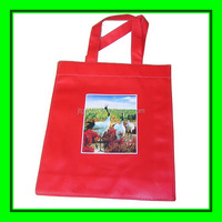 custom design printed cheap recycled valentine's day nonwoven gift bag