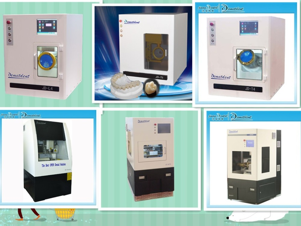High precision cnc zirconia cad cam dental equipment / dental ...