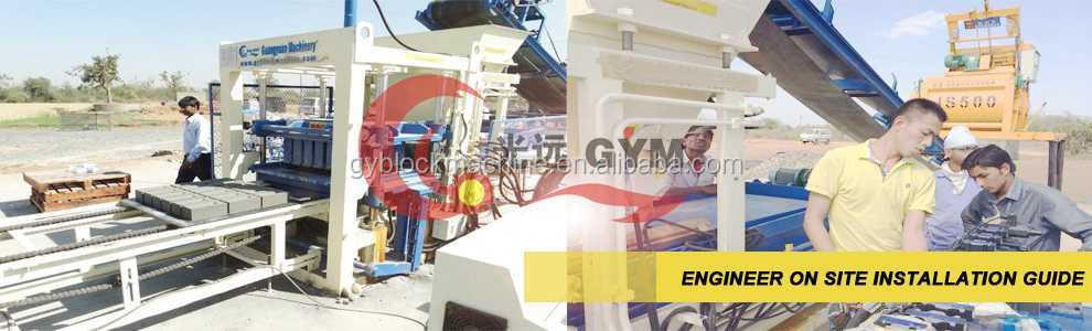 QT5-15 자동 콘크리트 중공 벽돌 만들기 기계 제조업체