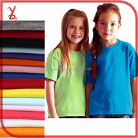 KT02 kids white t shirt combed blank T-shirts custom t shirt printing