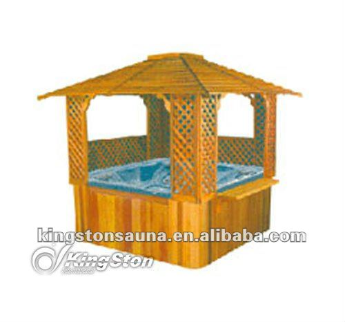 Outdoor holz whirlpool Pavillon/pavillon-bar( china)-Tower-Produkt ...