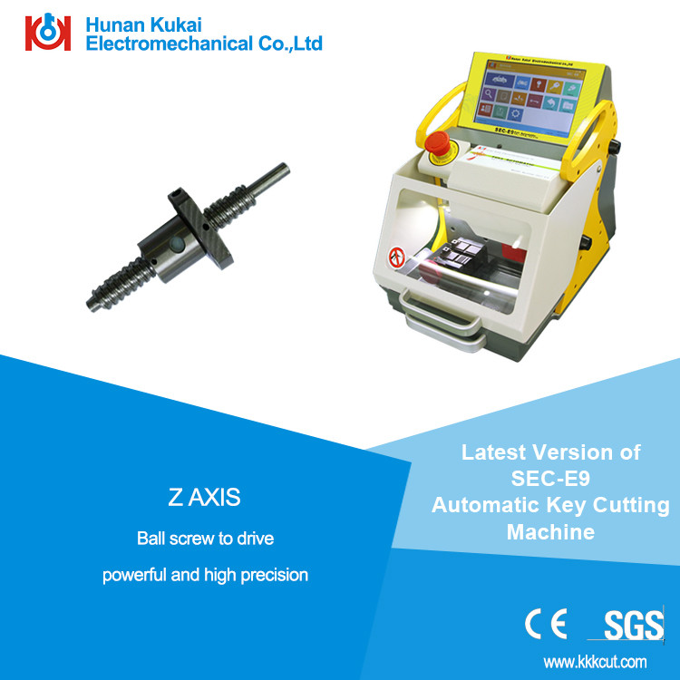 honda key cutting machine