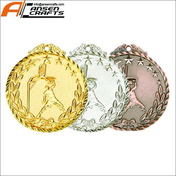 2018 Custom Made Different Plating Colors Basketball Dunk Medals