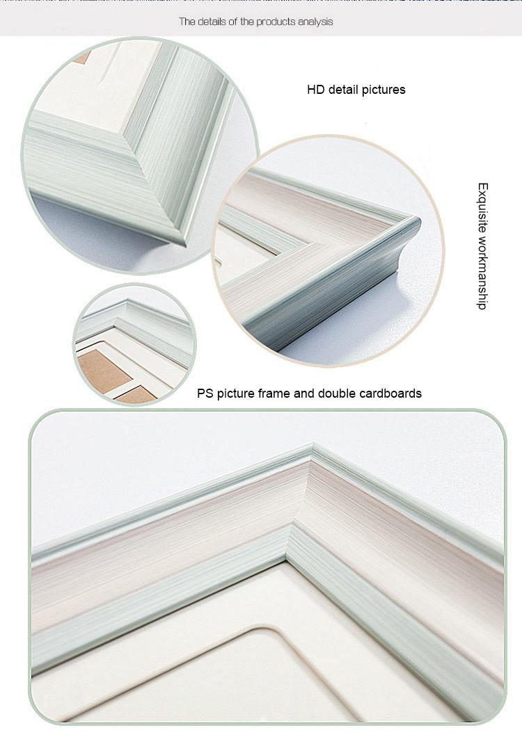 Mehrere Fotos Dekoration Holzwand Weiß Collage Bilderrahmen - Buy ...