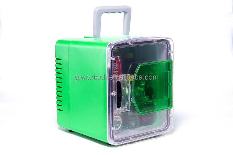 Mini Kühlschrank Für Das Auto : L mini kühlschrank auto kühlbox v l sichtfenster mini