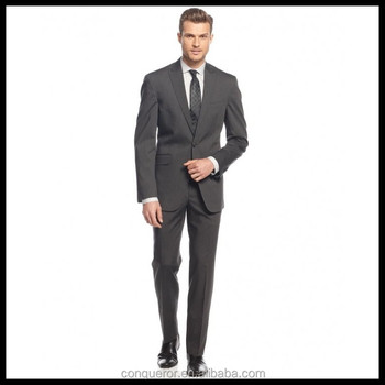 pretty nice b6e08 b8ef7 Anzug Hersteller Slim Fit Pin Gestreiften Grauen Herrenanzug - Buy Männer  Anzug,Slim Fit Männer Anzug,Slim Fit Grau Männer Anzug Product on ...