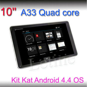 10.1 inch touch screen mini laptop OEM android tablet quad core 1024*600 HD touch pad