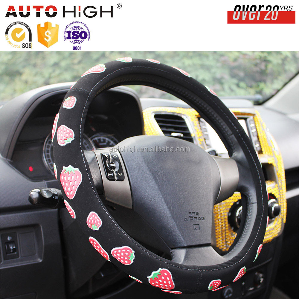 The most professional group Fashion PVC mini cooper steering wheel cover