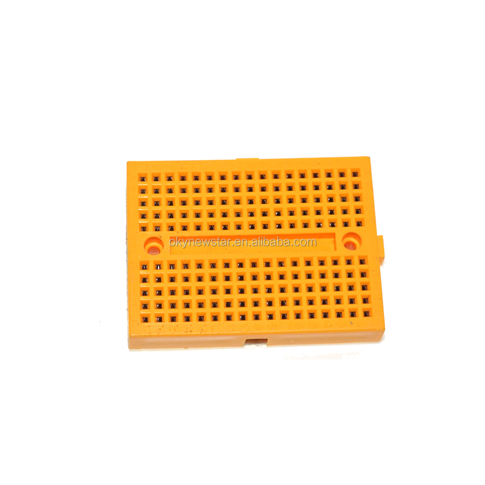 China Solderless Breadboard Transparent Showing The Metal Strips For Tie Manufacturers And Suppliers On