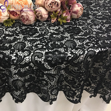 Great Black Lace Tablecloths, Black Lace Tablecloths Suppliers And Manufacturers  At Alibaba.com