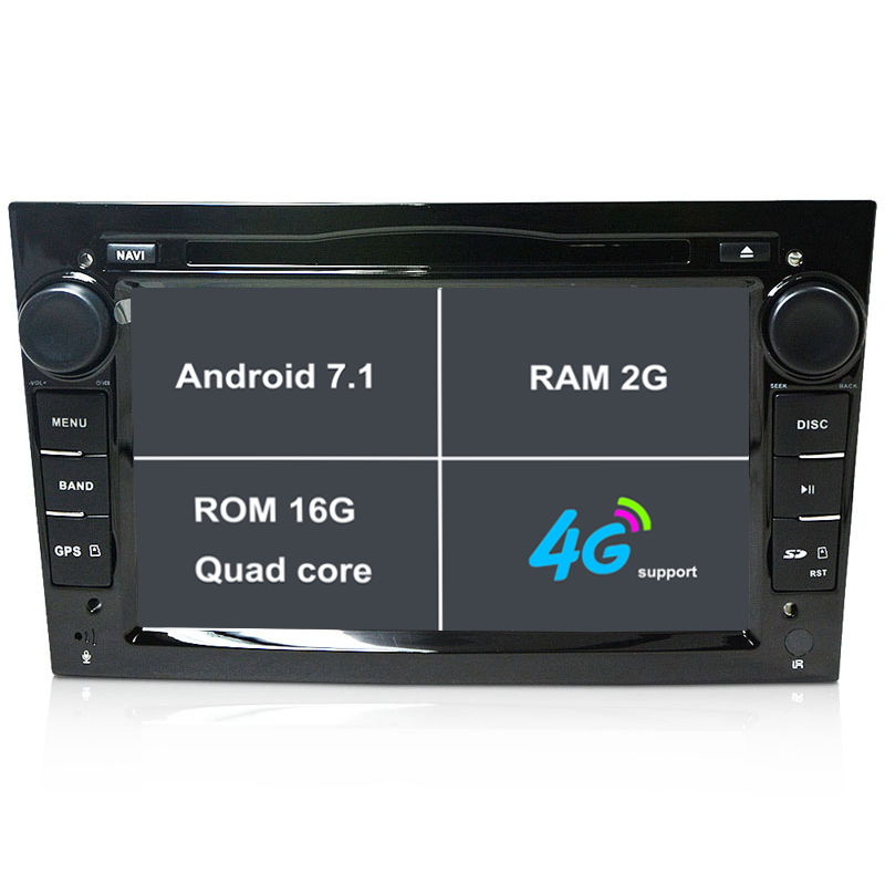 RAM 2G Android 7.1 Car DVD Player for Opel Corsa Astra Zafira Vectra Meriva 2004 2005 2006 2007 2008 2009 2010 2011 car gps