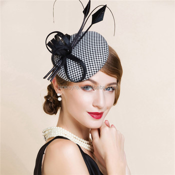 Elegant Linen Pillbox Wedding Party Hat Diy Hair Clip  headband - Buy  Wedding Party Hat 7666a204041