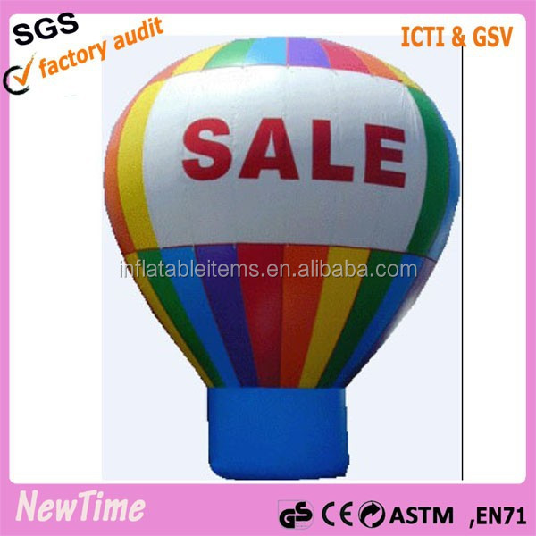 self inflatable advertising balloon floating balloon