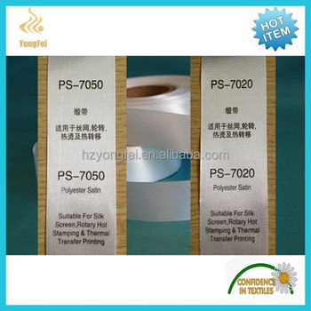 picture relating to Ink Jet Printable Fabric referred to as Polyester Satin Ribbon Printable Cloth Sheets For Inkjet Printer - Invest in Printable Cloth Sheet,Printable Cloth Sheets For Inkjet Printer,Satin