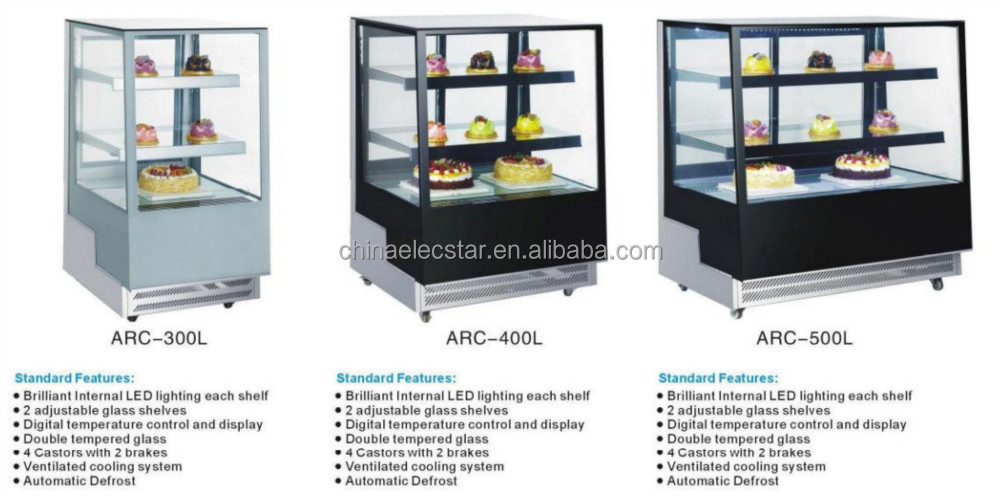 Cake Display Chiller Cake Display Fridge Cabinet