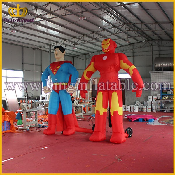 Customized Party Decoration Inflatable Super Hero Figures