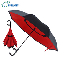 New products 2017 innovative automatic inverted umbrella