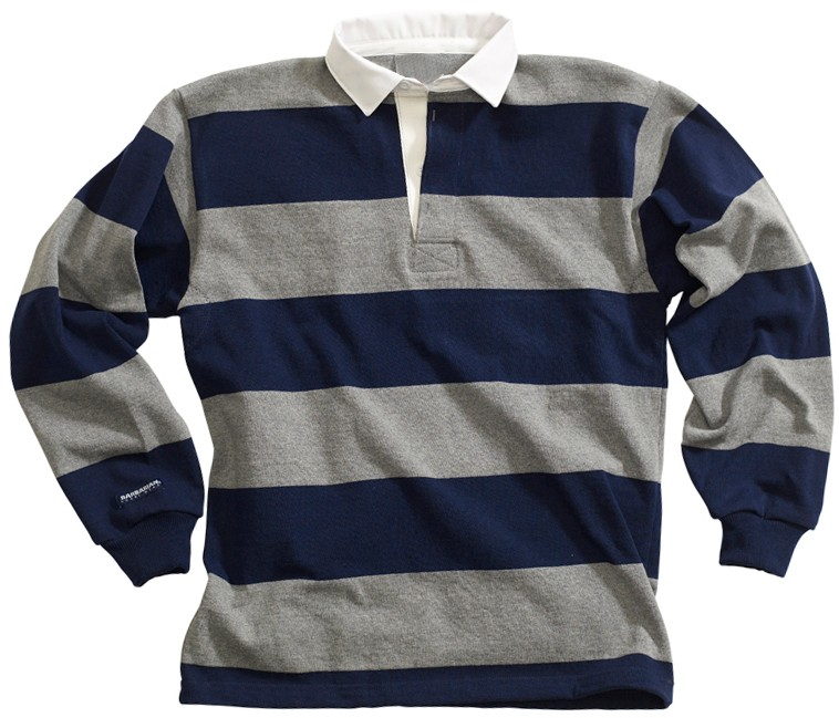 07e25ae1951 100 % Pre-shrink Heavy Cotton Striped Cheap Wholesale Rugby Shirts For men  / Mens