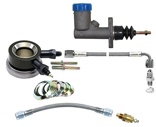 "NEW SOUTHWEST SPEED HYDRAULIC THROWOUT RELEASE BEARING & MASTER CYLINDER WITH CLUTCH LINE KIT & REMOTE BLEEDER KIT FOR 10.5"" STOCK CLUTCHES"