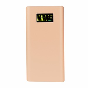 Rohs Power Bank 10000mAh Portable Charger External Battery Pack with Dual USB LCD Display