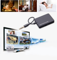 Mini 3.5mm Bluetooth Audio Transmitter A2DP Stereo Dongle Adapter for TV iPod Mp3 Mp4 PC Bluetooth Audio Music Receiver
