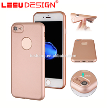 Luxury ultra thin tpu back cover cell phone silicone led light phone case for iphone 7