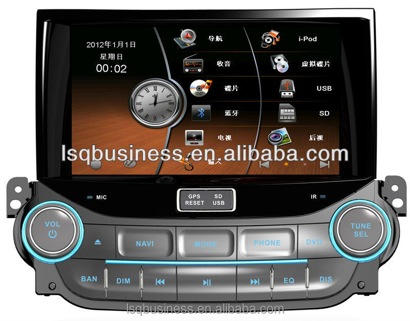 Car gps head unit for Chevrolet Malibu with gps/radio/dvd/8 v-cdc/canbus/ipod on-sale!hot!
