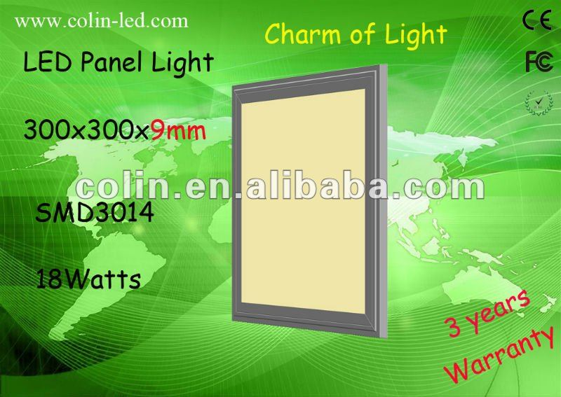 600*600mm 60W High Efficiency Warm White LED Light Panel