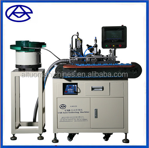 USB cable making machine solder usb wire making machine shenzhen
