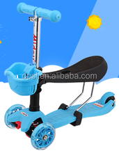 China factory 3 wheels kids scooter with EN71